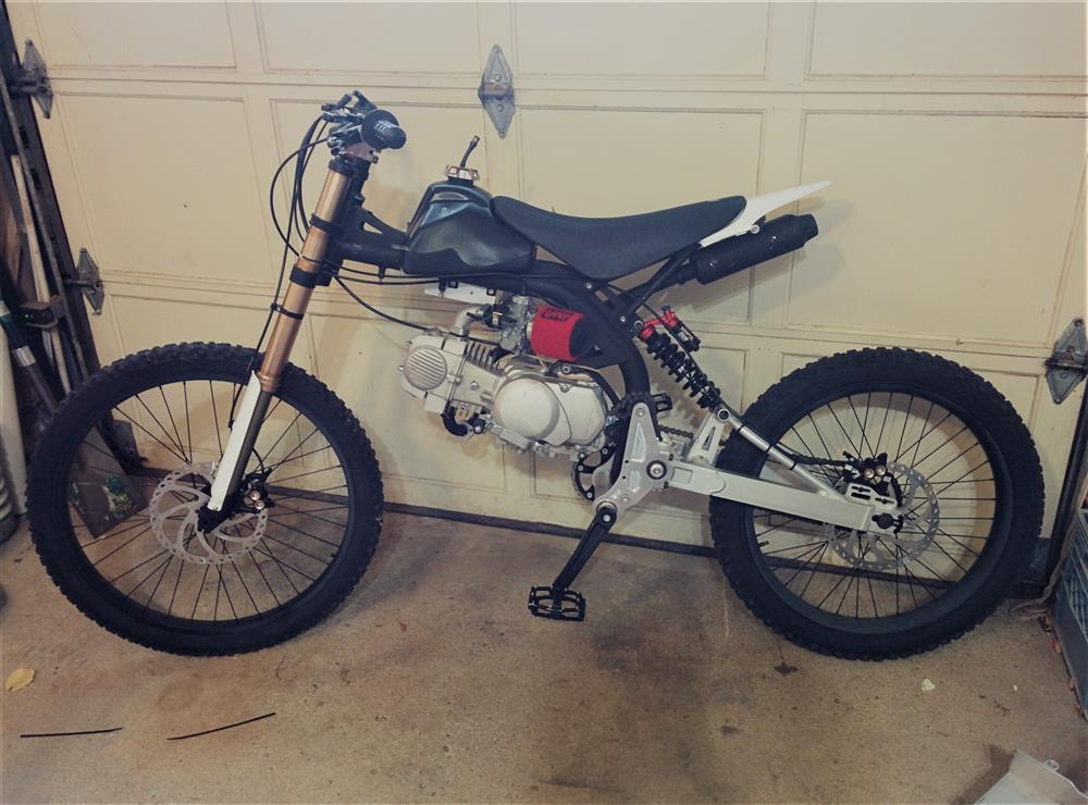 BKE Racing. Project MotoPed - The Ultimate Woods Weapon? - Part 1
